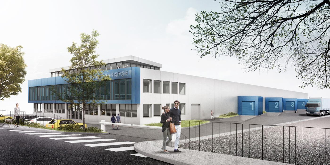 Arhitekturni biro STVAR | Poslovno skladiščni objekt KT