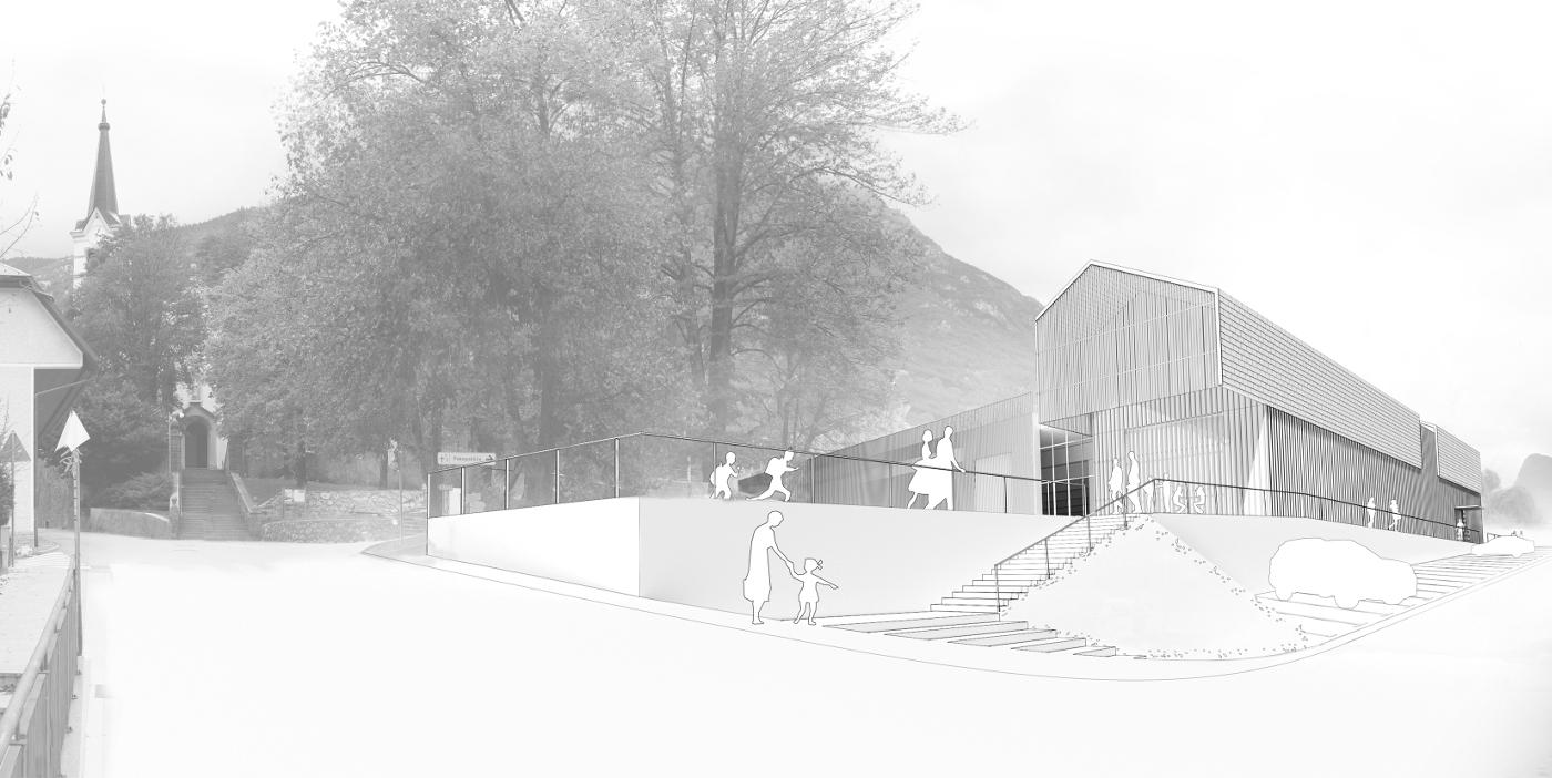 Arhitekturni biro STVAR   Športna dvorana Bovec