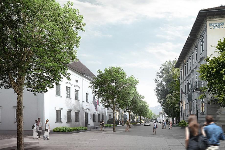 Arhitekturni biro STVAR | Osrednji prostor Radovljice