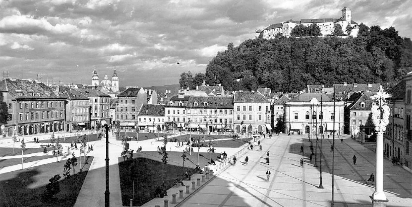 Arhitekturni biro STVAR   Kongresni trg in park Zvezda v Ljubljani