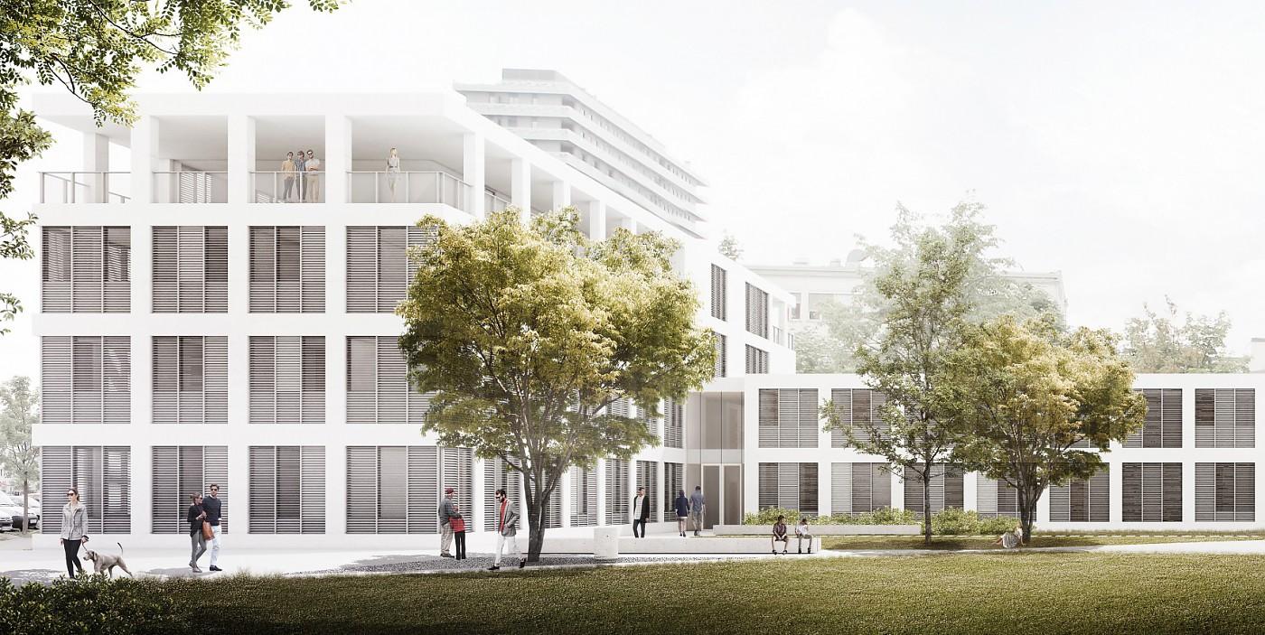 Arhitekturni biro STVAR | Zdravstveni dom Nova Gorica, faza III